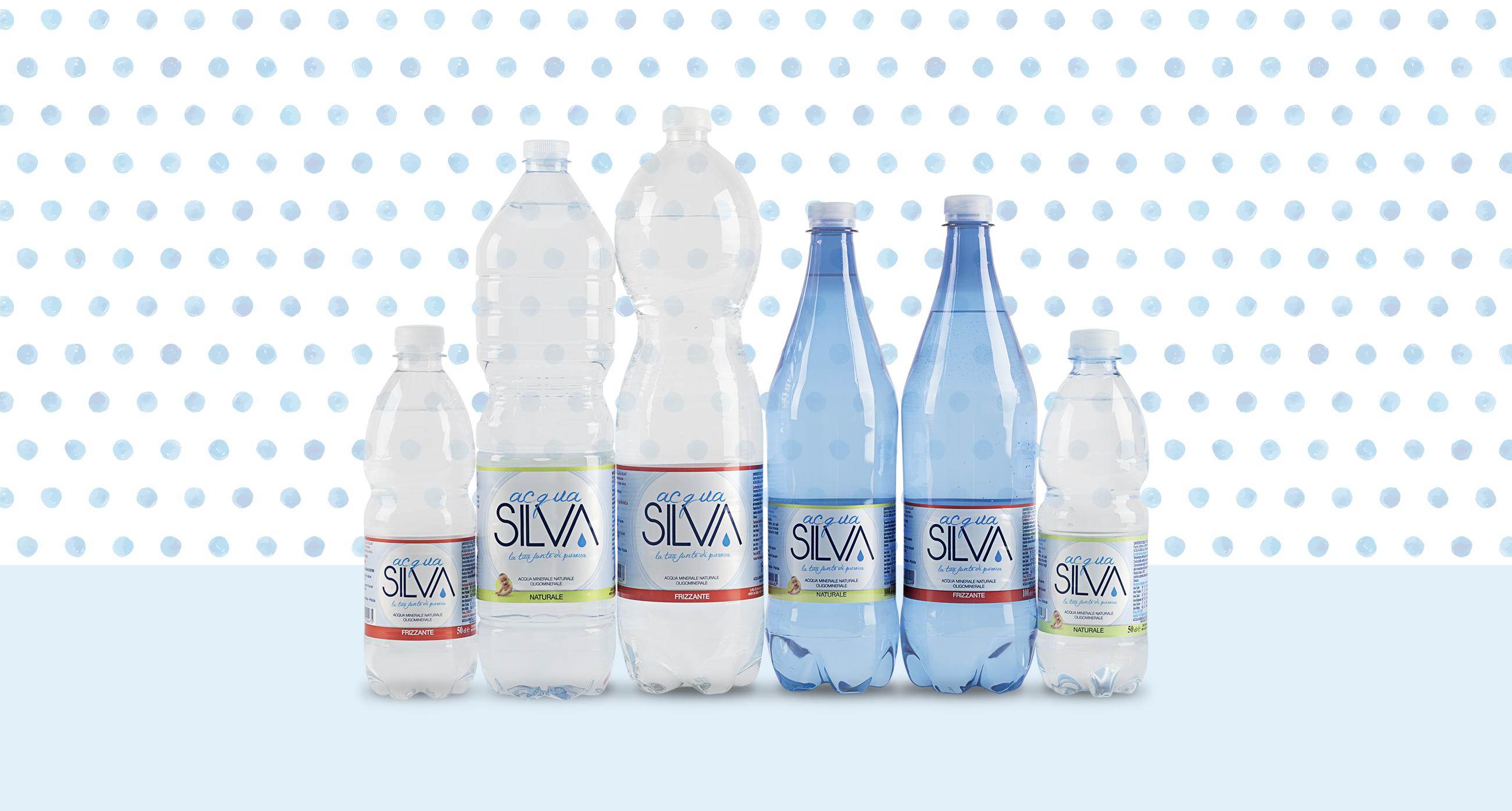 Acqua Silva nuove etichette