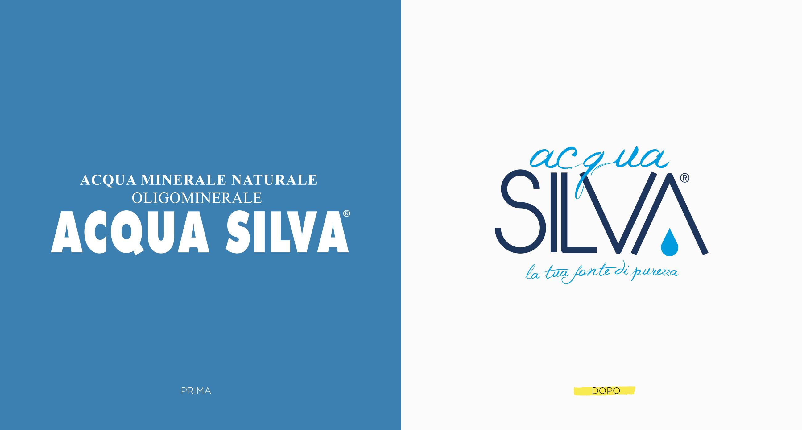 Acqua Silva nuovo logo