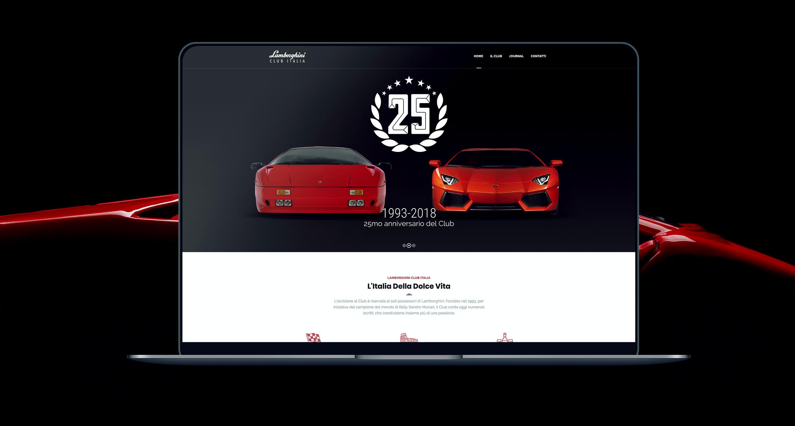 Lamborghini Club Italia sito web