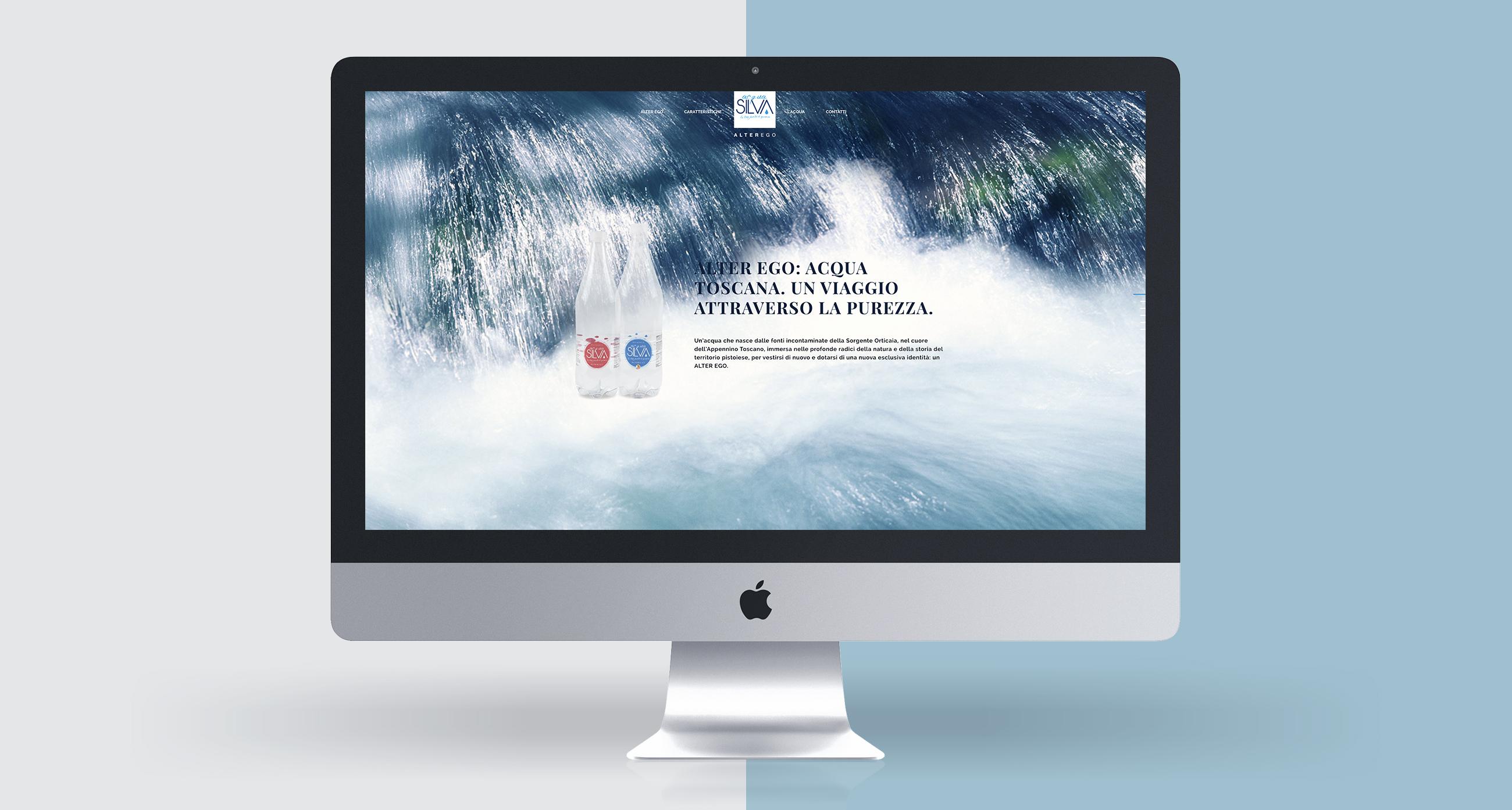 Acqua Silva sito web