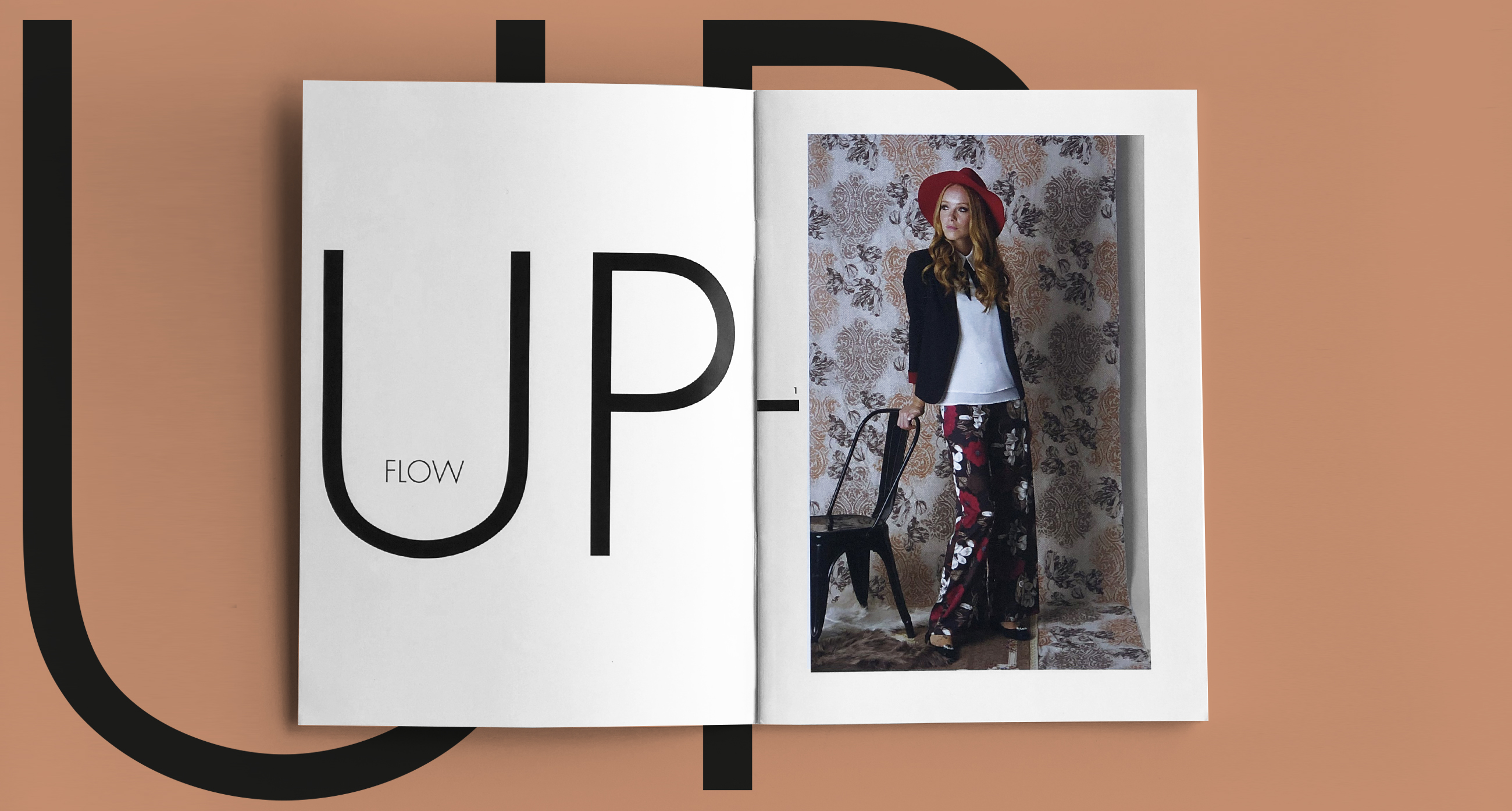 Flow Up catalogo design