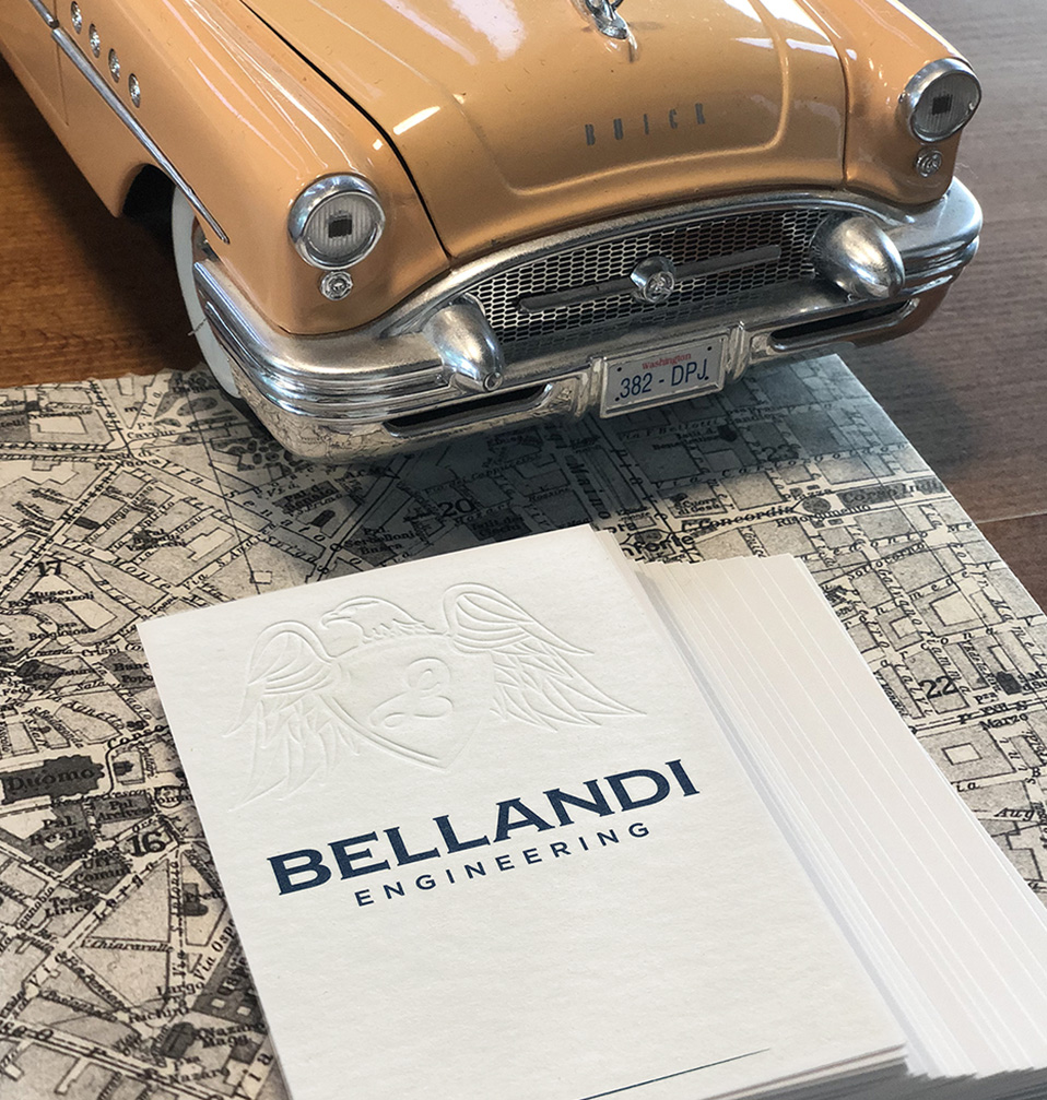 Bellandi Engineering biglietti da visita