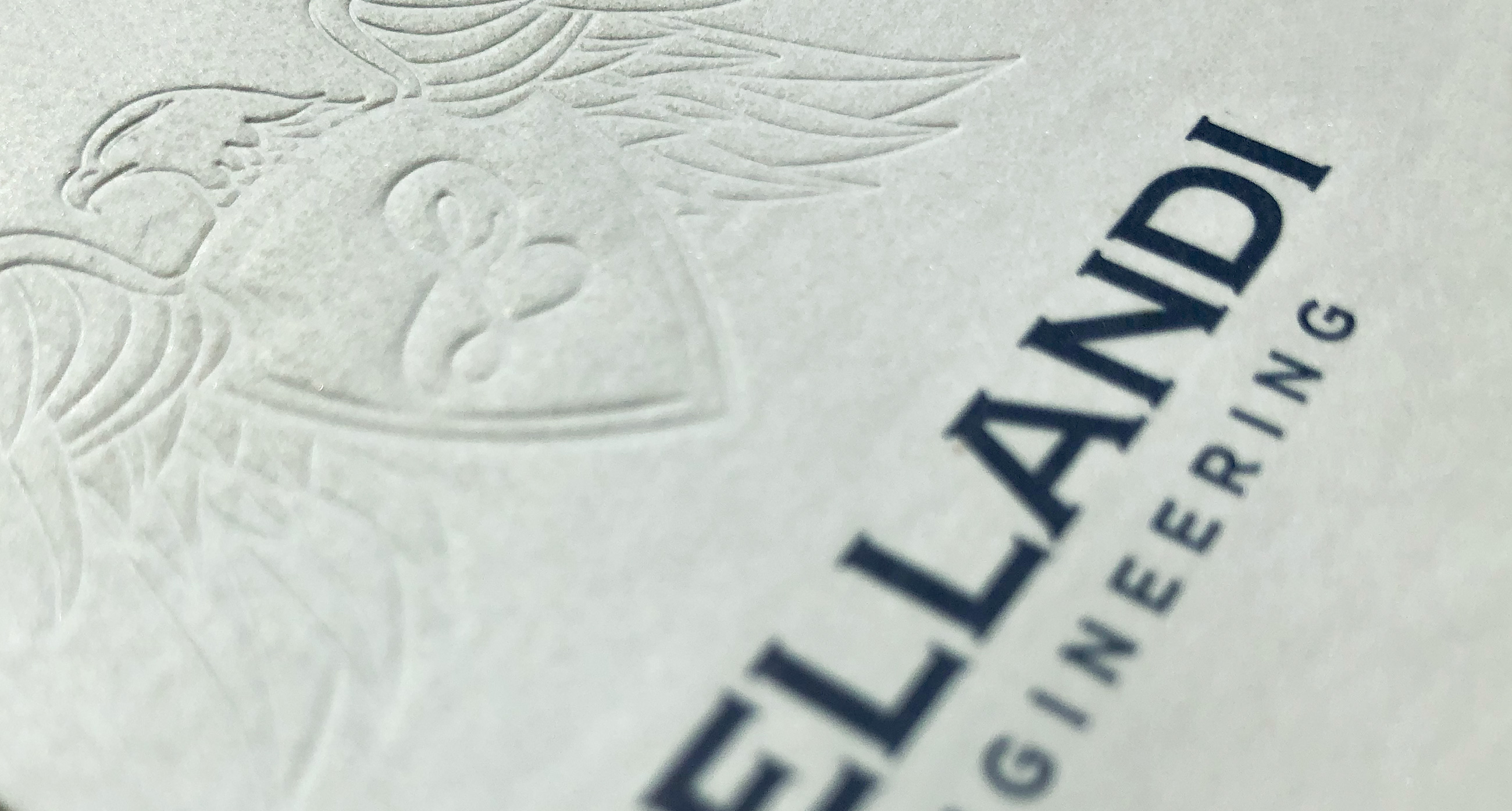 Bellandi Engineering embossing