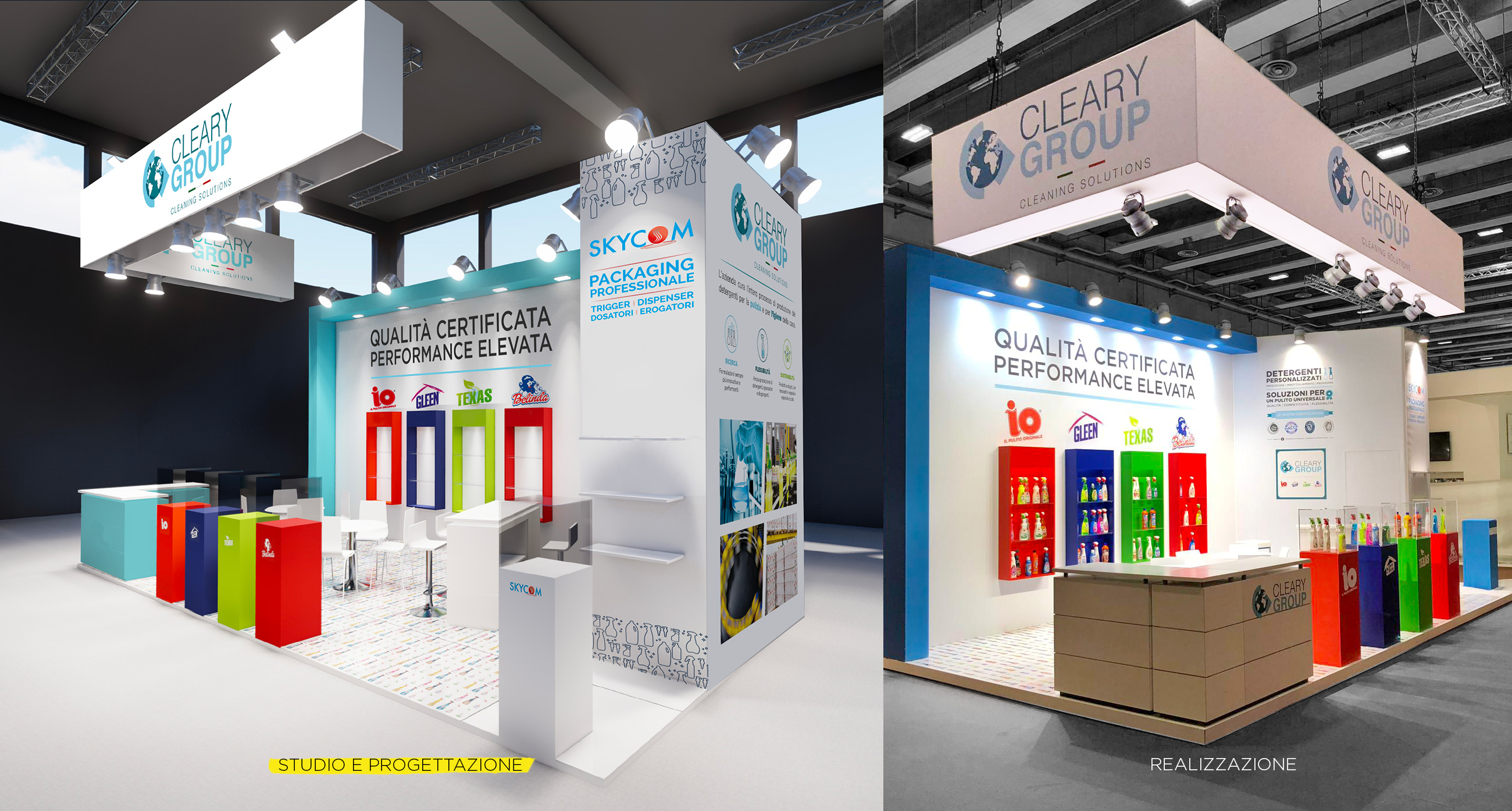 Cleary Group design stand Pulire Verona