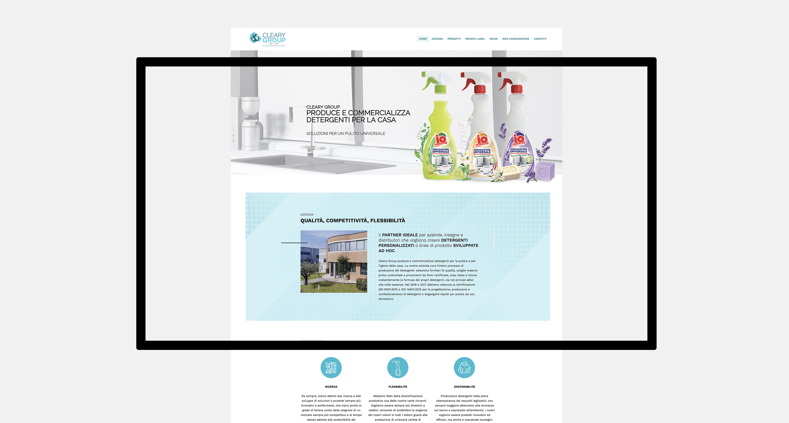 Cleary Group webdesign