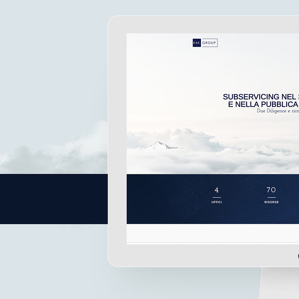 ESC Group webdesign