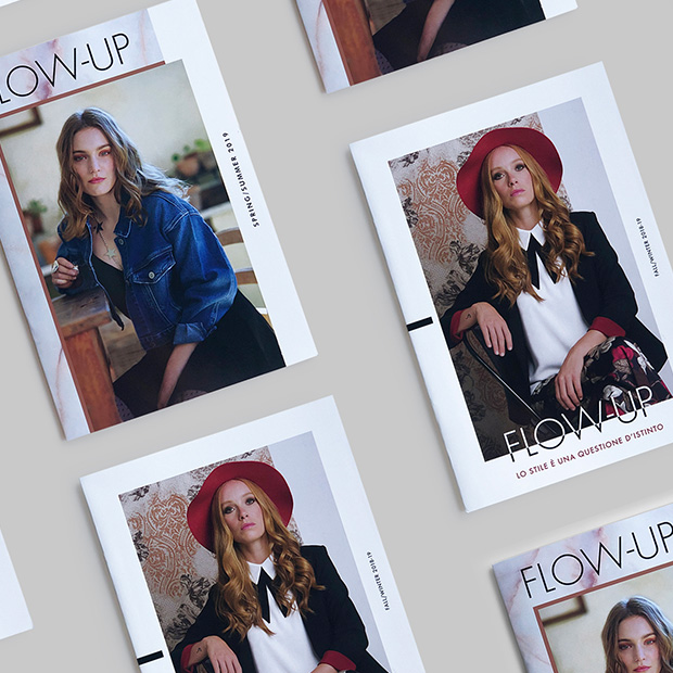 Flow Up fashion catalog