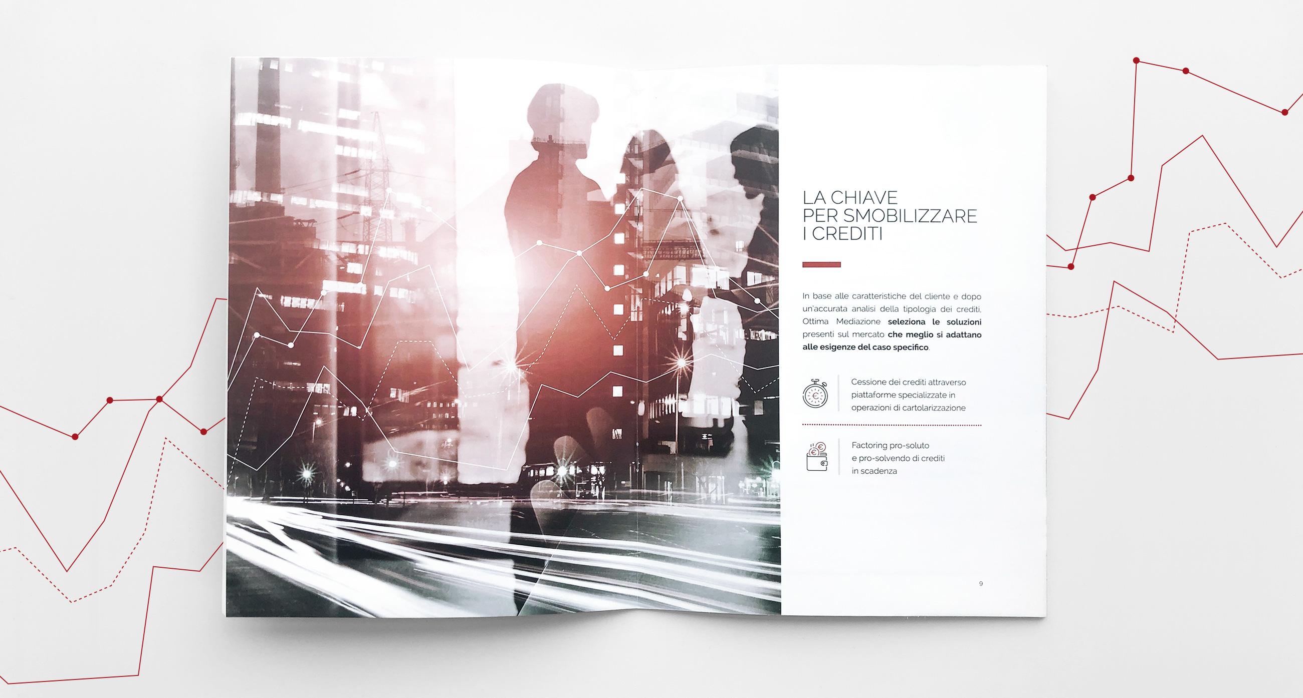 Ottima Mediazione company profile design