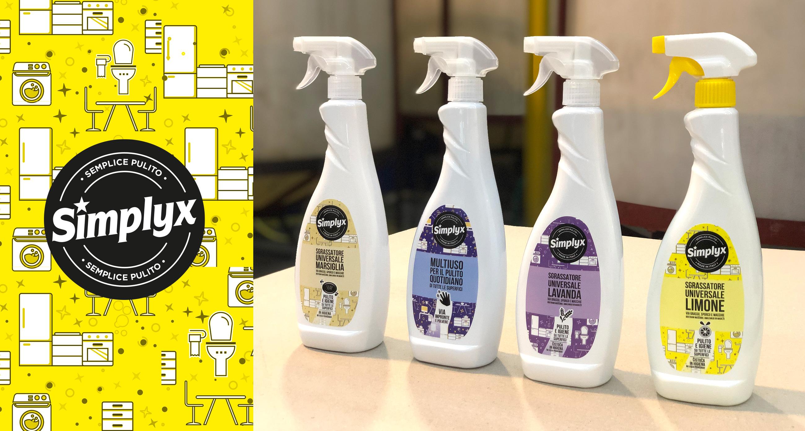 Simplyx design nuove etichette prodotto